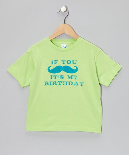 Key Lime 'It's My Birthday' Tee - Infant, Toddler & Kids