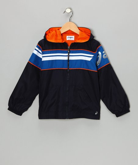 Peacoat Distance Zip-Up Jacket - Boys