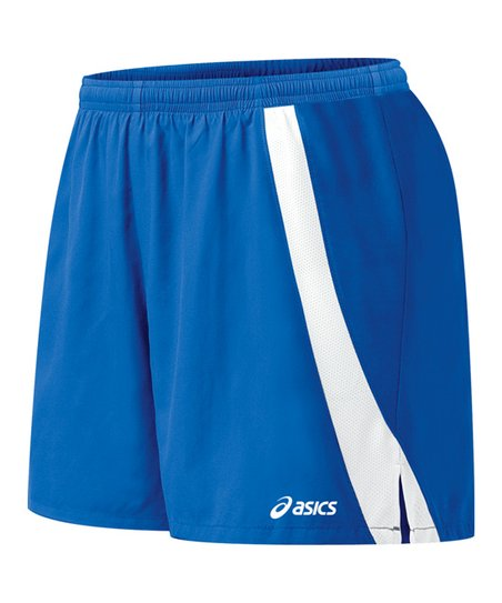 Royal Blue & White Intensity Shorts - Women