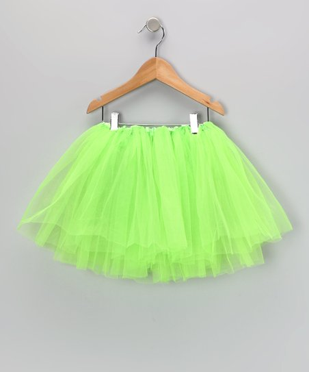 Lime Five Layer Tutu