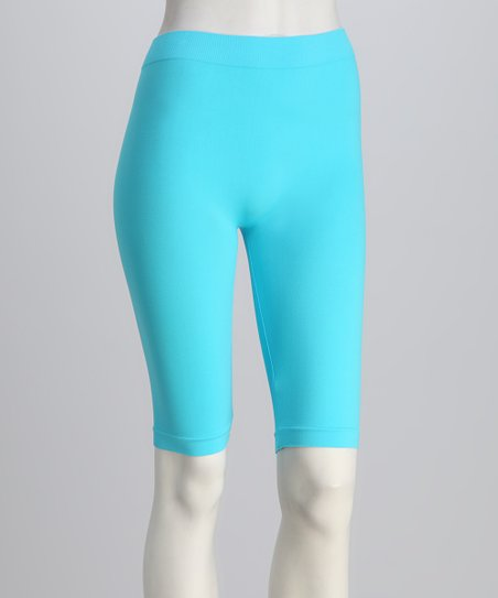 Aqua Bike Shorts Set - Women