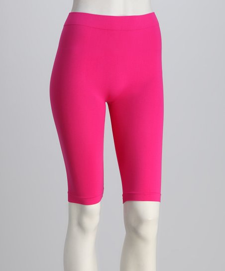 Fuchsia Bike Shorts Set