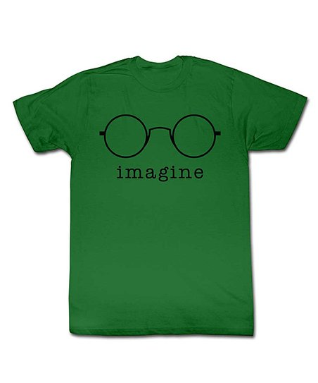 Green 'Imagine' Tee - Toddler & Kids
