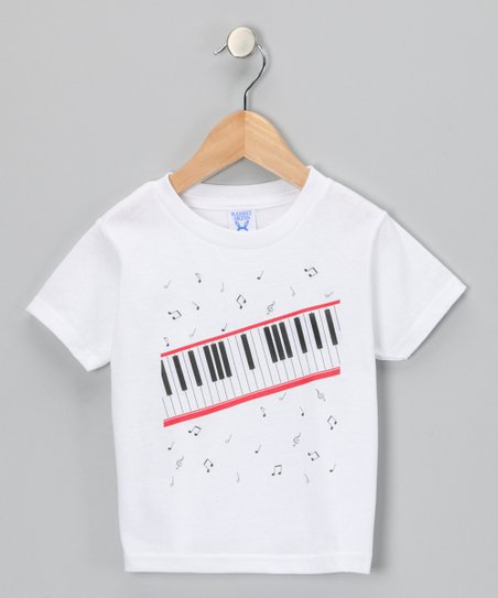 White Key of Awesome Tee - Toddler & Kids