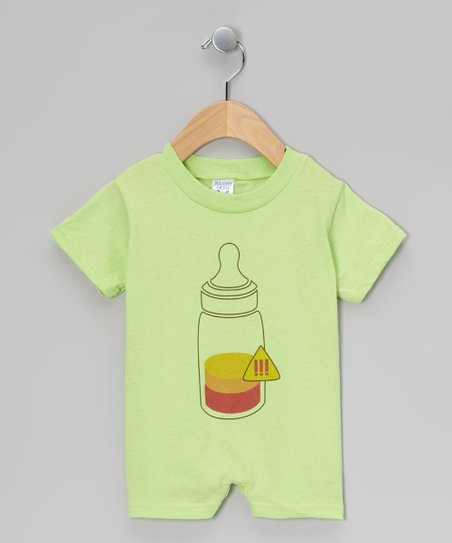 Key Lime Hot Bottle Romper - Infant