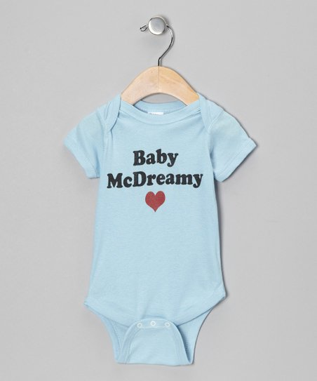 Light Blue 'Baby McDreamy' Bodysuit - Infant