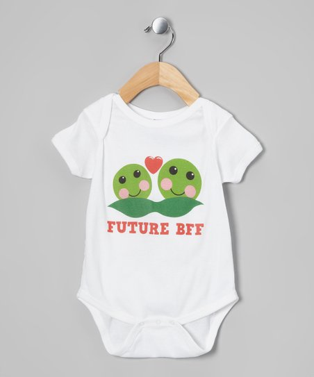 White Peas 'Future BFF' Bodysuit - Infant