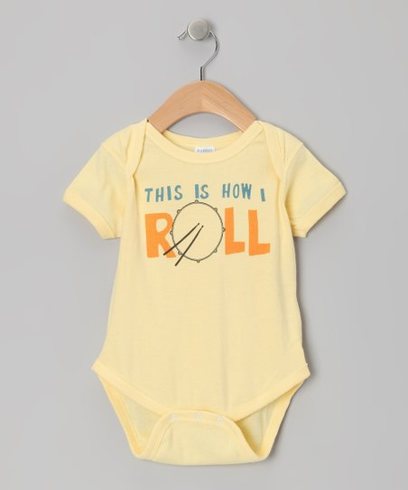 Banana How I Drumroll Bodysuit - Infant