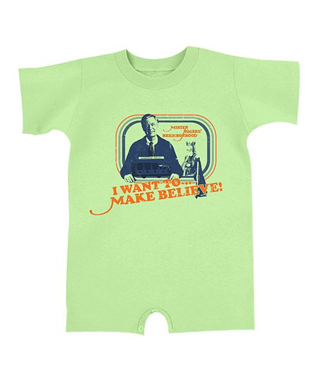Key Lime 'I Want to Make Believe' Romper - Infant