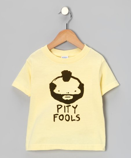 Banana 'Pity Fools' Tee - Toddler & Kids