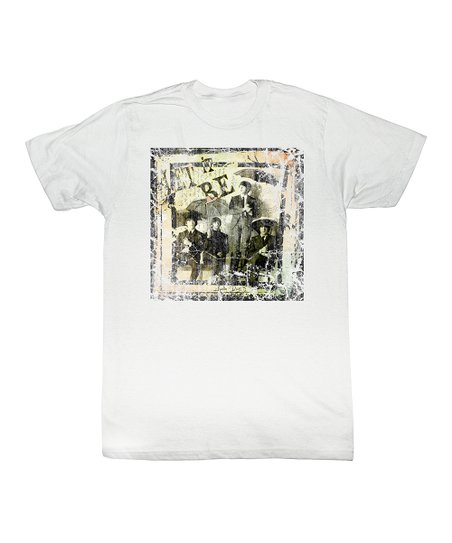White 'Let It Be' Tee - Toddler & Kids