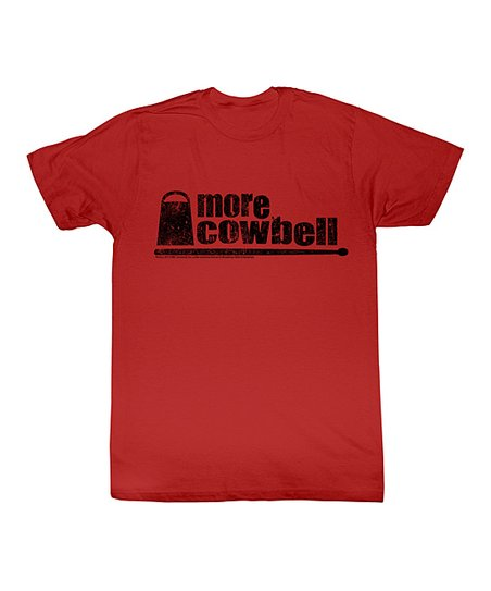 Red 'More Cowbell' Tee - Toddler & Kids