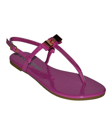 Fuchsia Surprise Sandal