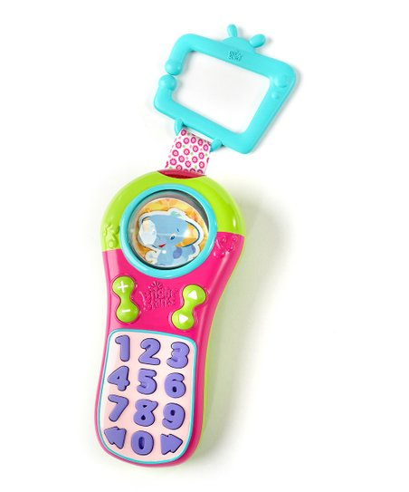Hot Pink & Turquoise Click & Giggle Sound Remote