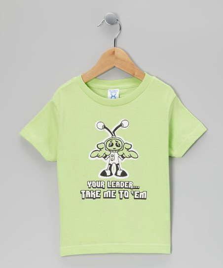 Key Lime 'Take Me to Your Leader' Tee - Toddler & Boys
