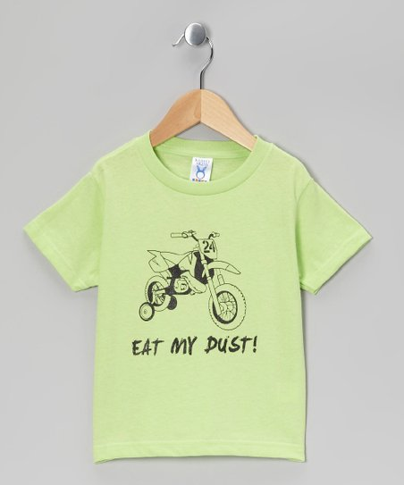 Rainbow Swirlz Key Lime 'Eat My Dust' Tee - Toddler & Boys