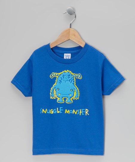 Royal 'Snuggle Monster' Tee - Toddler & Boys