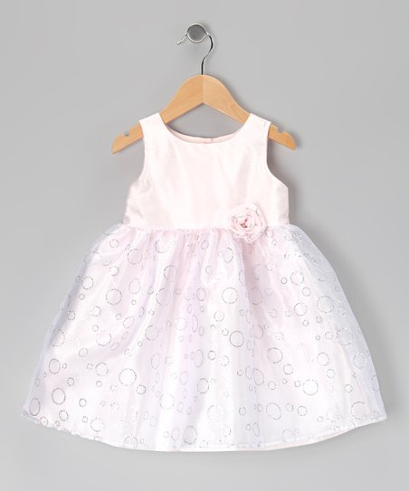 Pink Rosette Dress - Toddler & Girls