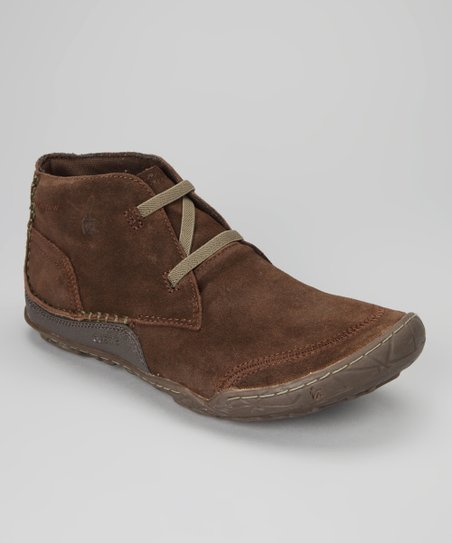 Brown Suede Evo Desert Ankle Boot - Men
