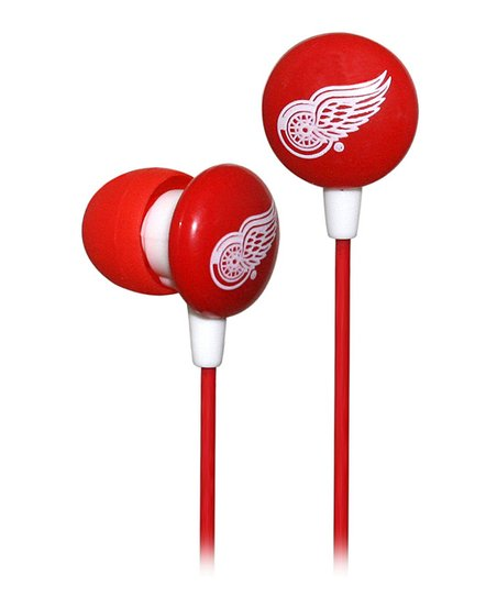 Detroit Red Wings Earbuds