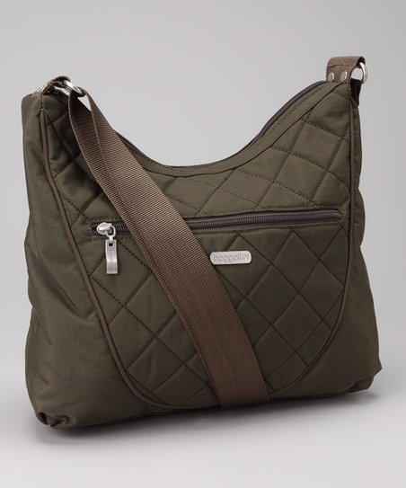 Dark Olive &amp; Spice Drifter Shoulder Bag