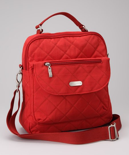 Tomato &amp; Mango Quilted Explorer Backpack