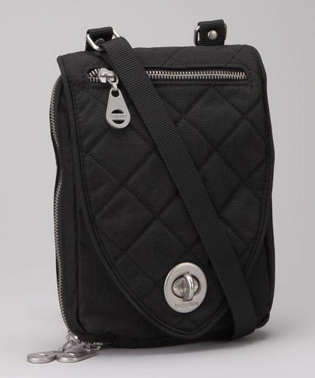 Black & Khaki Geneva Crossbody Bag