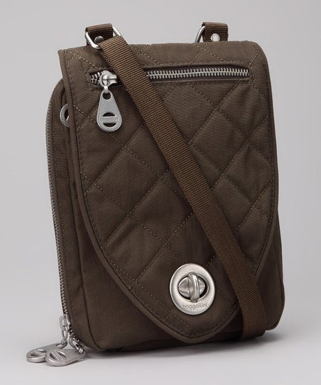Dark Olive &amp; Spice Geneva Crossbody Bag