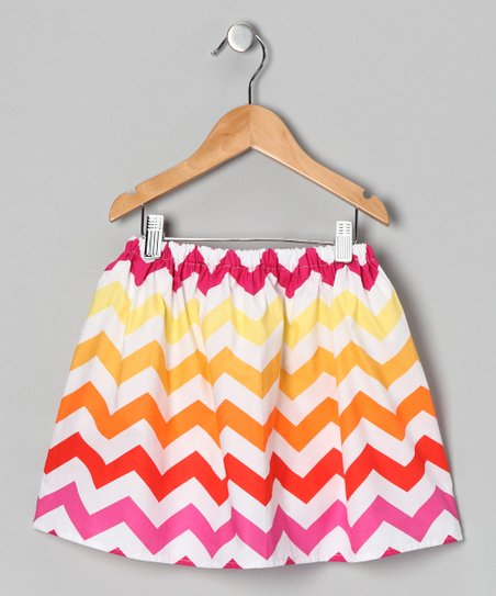 Sun Chevron Skirt - Infant, Toddler & Girls