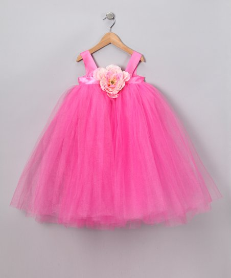 Hot Pink Ella Princess Dress - Infant, Toddler & Girls