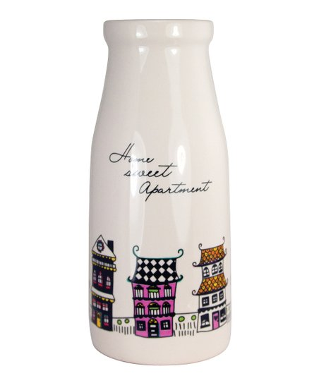 'Home Sweet Apartment' Milk Bottle