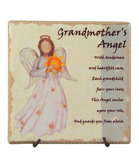 'Grandmother's Angel' Faithful Guardians Tile