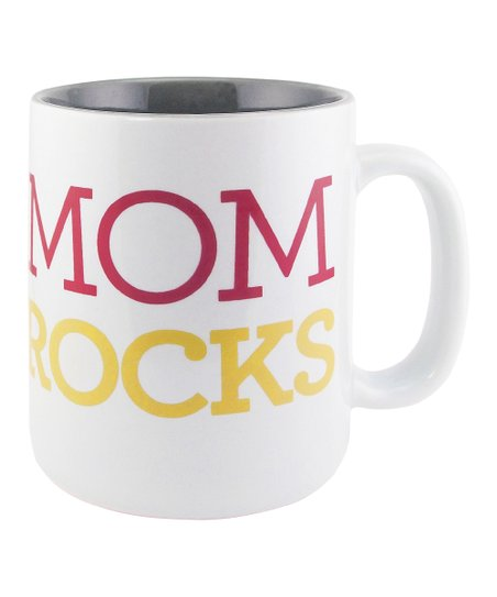 'Mom Rocks' Sunnyside Up Mug