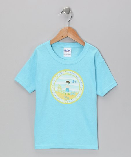 Blue Personalized Scuba Boy Tee - Infant, Toddler & Boys