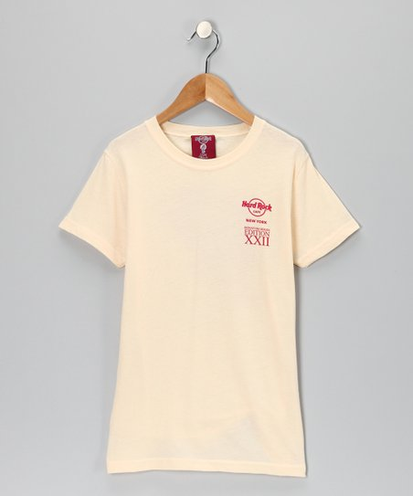 Cream 'Hard Rock New York' Tee - Girls