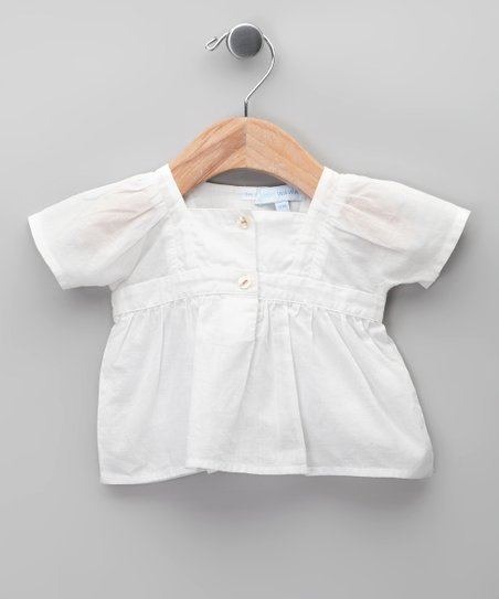 Blanco Nanzu Blouse - Infant, Toddler & Girls
