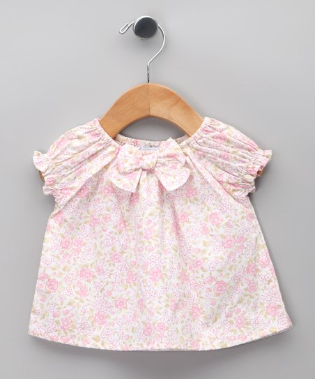 Rosa Floral Bow Dress - Infant