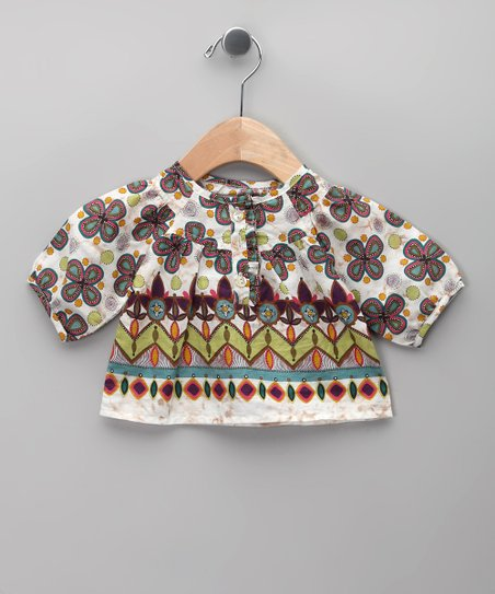 Morado Floral Blouse - Infant