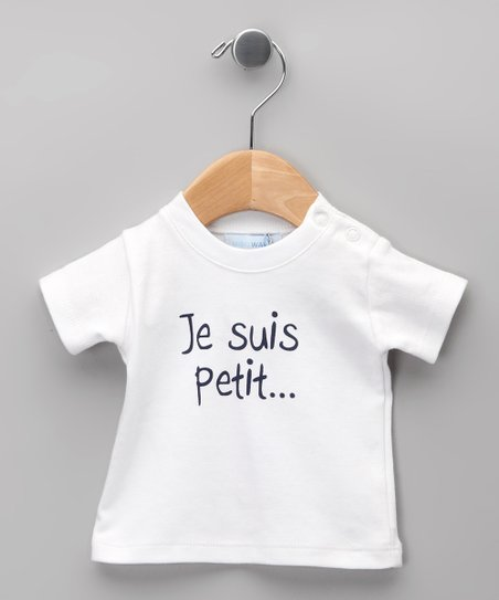 Blanco 'Je Suis Petit' Tee - Infant & Toddler