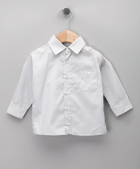 Gris Button-Up - Infant, Toddler & Boys