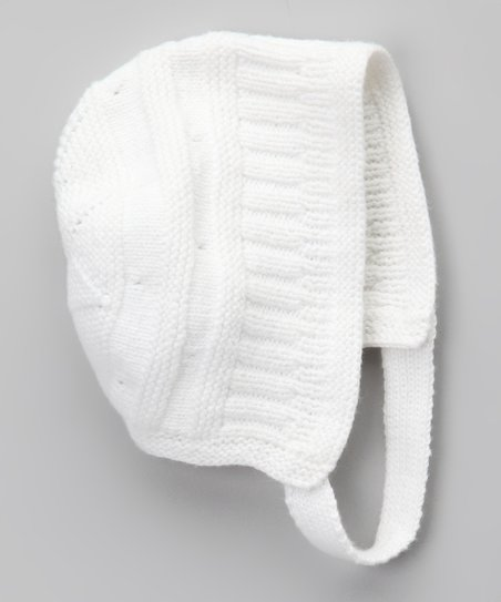Blanco Knit Bonnet