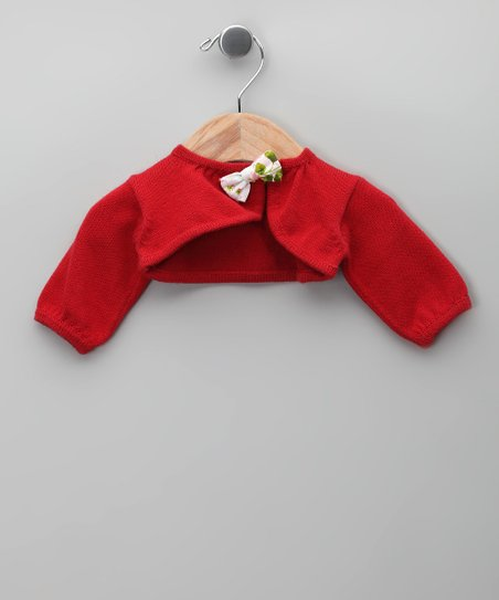Rojo Bow Bolero - Infant