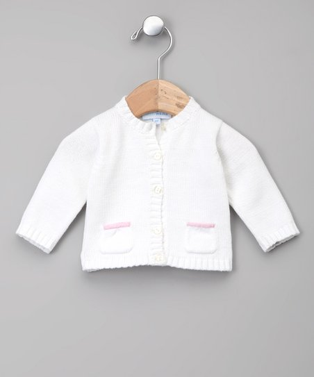 Blanco & Rosa Pocket Cardigan - Infant