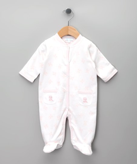 Blanco & Rosa Footie - Infant
