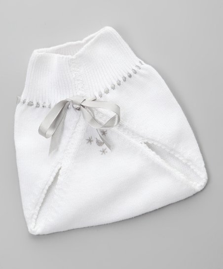 Blanco & Gris Diaper Cover - Infant