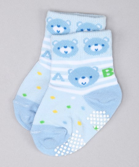 Blue Bear Socks Set