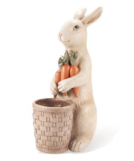 Bunny &amp; Carrot Figurine