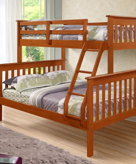 Espresso Mission Full & Twin Bunk Bed