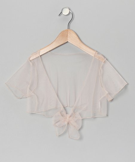 Mocha Sheer Shrug - Toddler & Girls