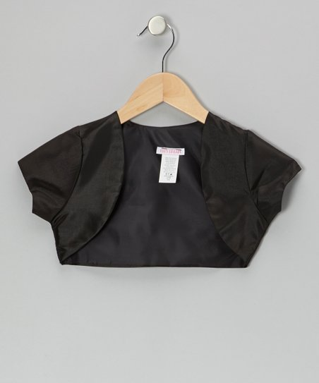 Black Shrug - Toddler & Girls